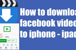 How to Download Facebook Video on iPhone