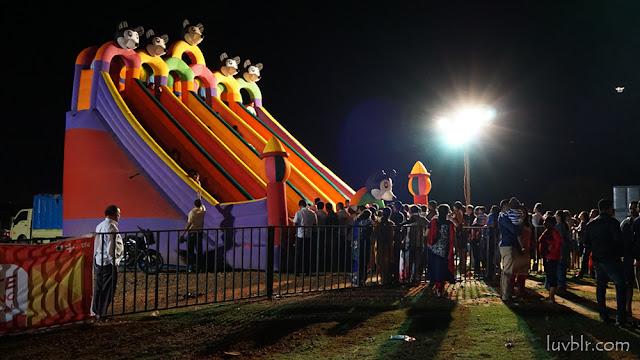 Event at Mysore Helipad