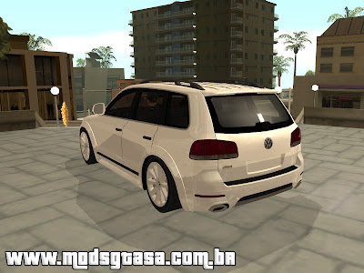 VW Tourage Original R18 para GTA San Andreas
