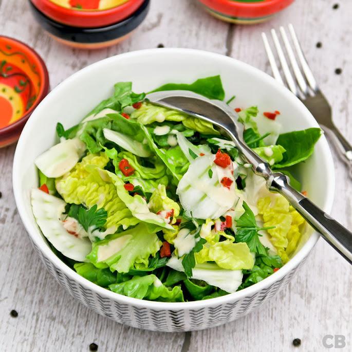 Recept Kruidige salade met venkel en een ketjapdressing