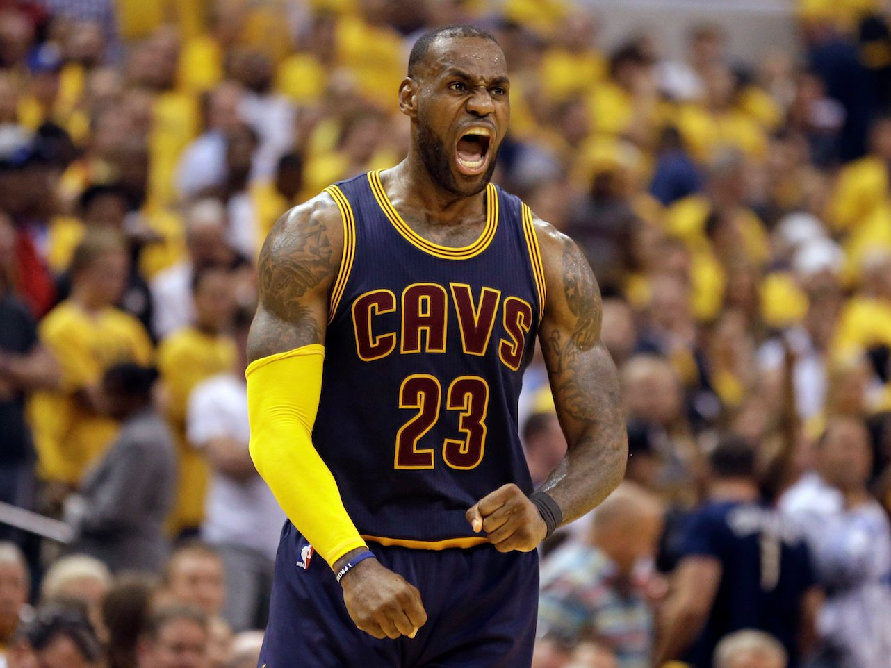 Lebron James was Unstoppable in the fourth quarter against ...