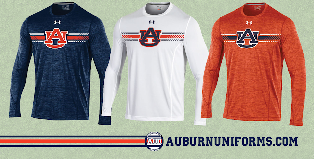 auburn under armour shirt