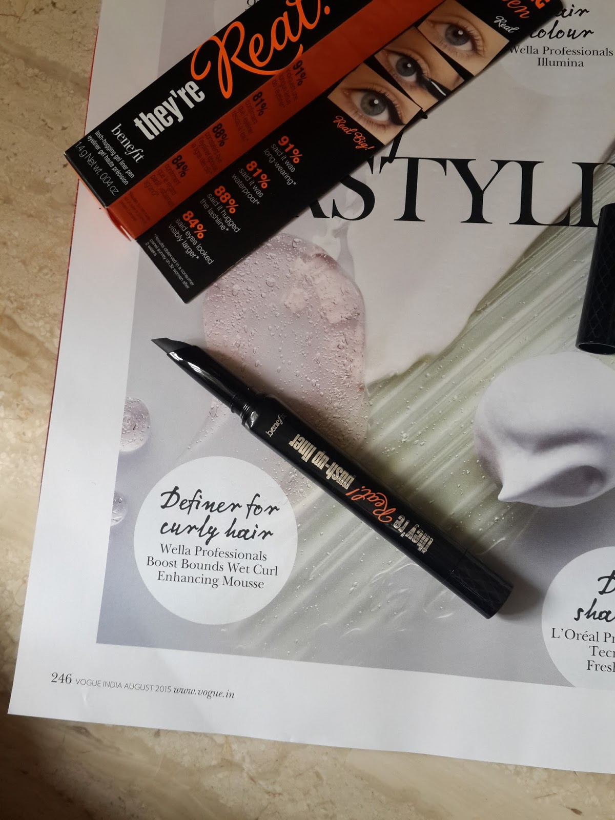 76a32f13139 RIDZI MAKEUP: BENEFIT THEY ARE REAL PUSH-UP LINER REVIEWS