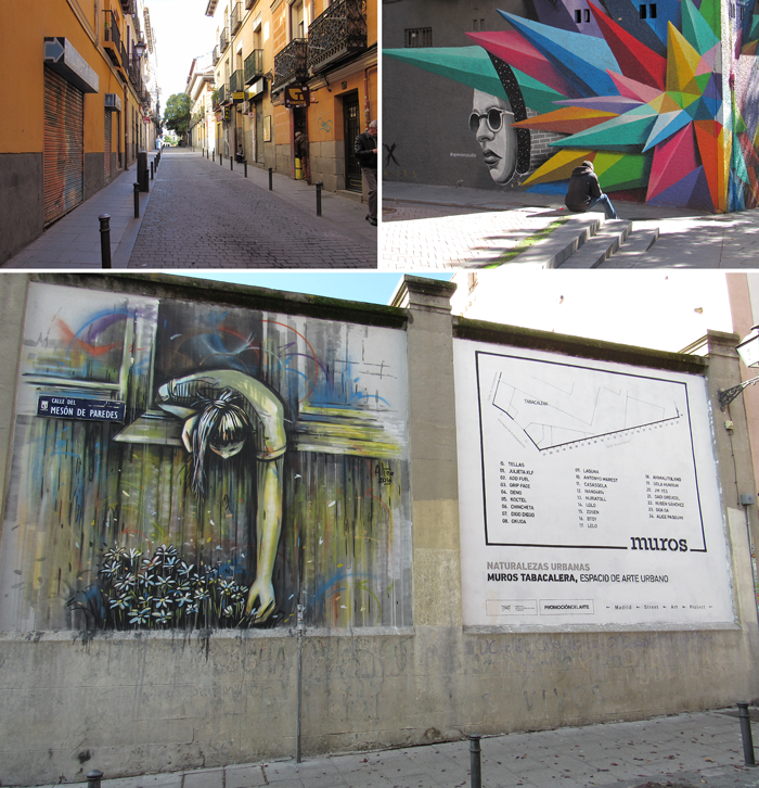 Valentina Vaguada: lavapies, madrid, art, street art, urban art, murals, murales, spain, españa