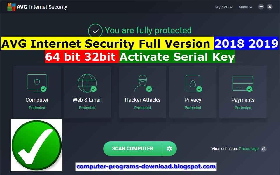 AVG Internet Security 2019 free download