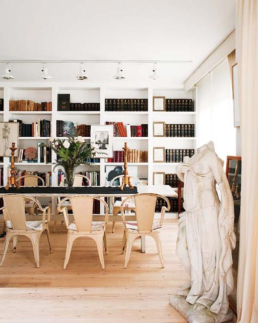 Noir blanc un style - Ajouter peu doriginalite interieur les chaises tolix ...