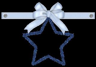 Clipart Navidad en Tonos Azules.