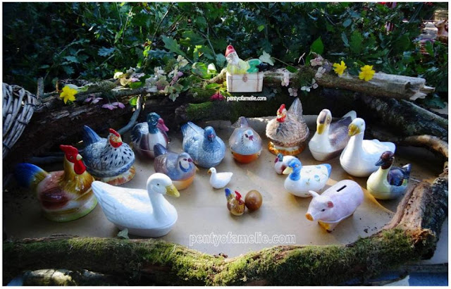 head tureens and covers, Rooster, Cockerel, Pintail Duck, Brown and Blue Hens, Waterfowl Shelduck Tadorna, Red-legged Partridge, Rare Blue Duck Floral motif, Geese, Snow Goose and Male, Brown Gander, Small Goose, White Swan, Piggy Bank Pink Sow Moneybox