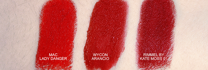Wycon Arancio Crazy Orange Swatch