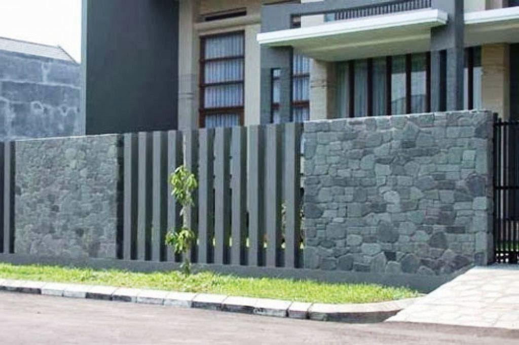 Model Pagar Tembok Sederhana Unik Dan Menarik