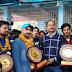 राष्ट्रीय रोप चैंपियनशिप विजेता बनकर लौटी दिल्ली टीम भव्य स्वागत