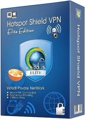 Hotspot Shield VPN Elite Edition 5.20.22 + Ativação
