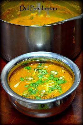 Dal Panchratan | Five dal curry