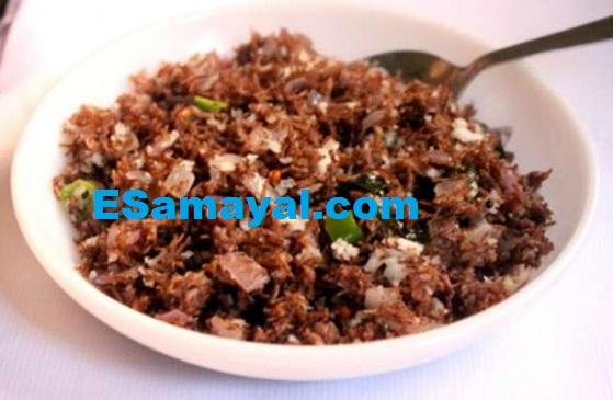கேழ்வரகு – காய்கறி உப்புமா செய்முறை | Ragi - Vegetable Salt Dish Recipe !