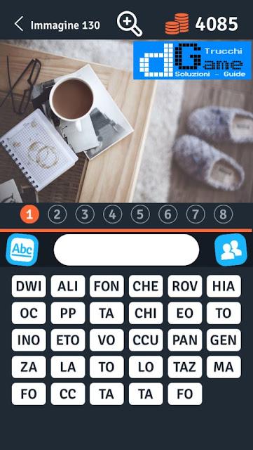 8 Parole Smontate soluzione livello 121-130