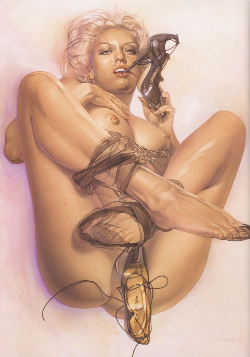 Hajime Sorayama - Sexy Girls Fine Arts-4721
