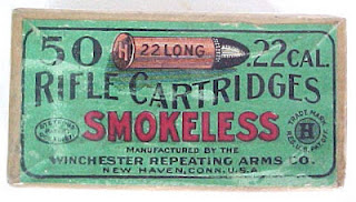 Vintage 22 Winchester Smokeless w/ Picture