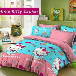 Sprei Star Anak Anak Hello Kitty