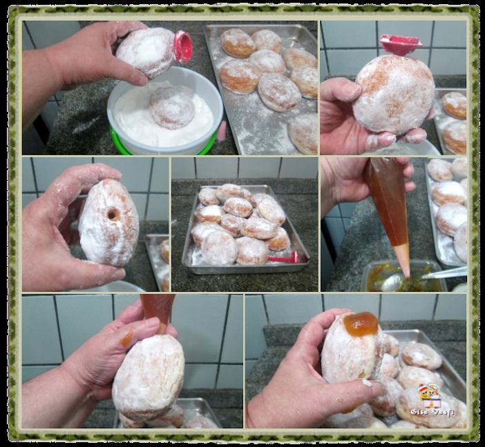 Donuts com geleia 7