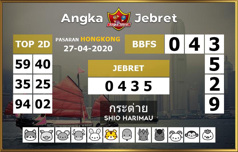 angka jebret pasaran hongkong