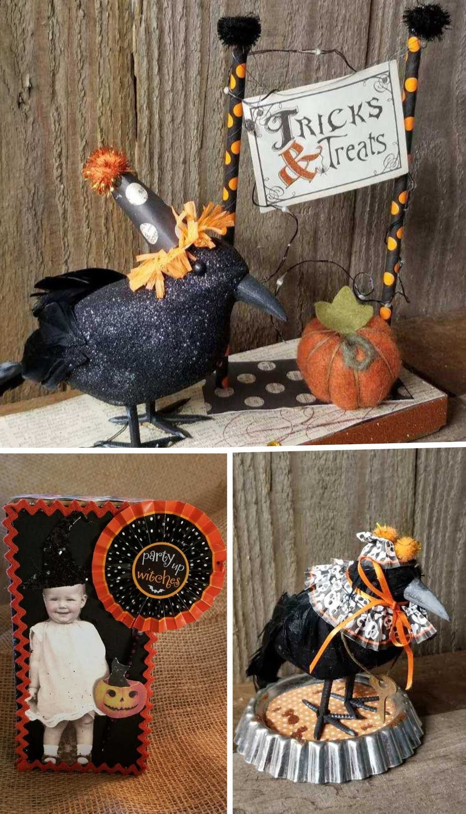 GIRLS NIGHT OUT - FESTIVE CROWS