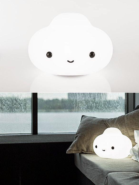 La pequeña lámpara-nube