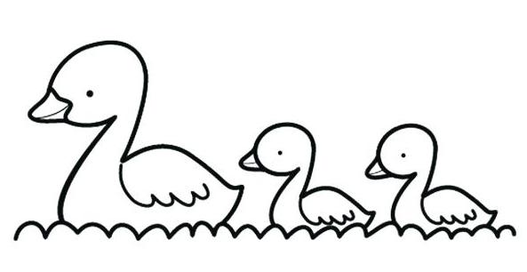 Pato Para Colorear - Disney para colorear libro