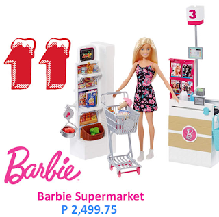 barbie supermarket toy