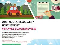 Lomba Menulis Review Blog Nasional 2019 [Gratis] #TRAVELBLOGIDREVIEW