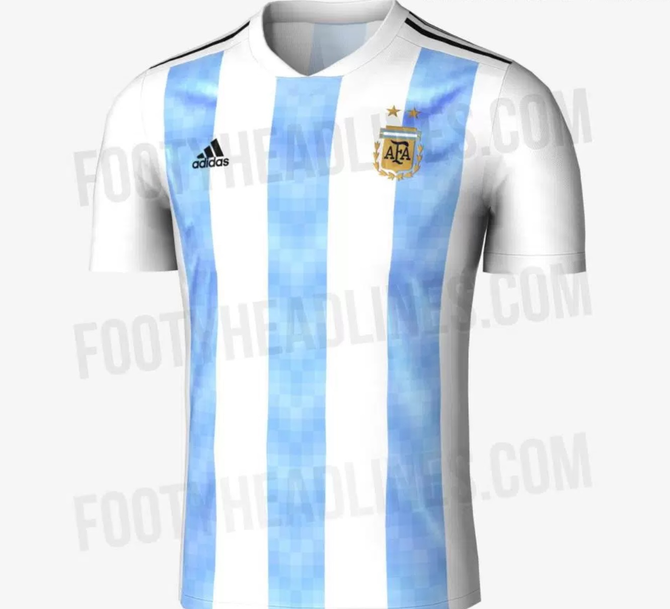 Home Kit of Argentina World Cup 2018
