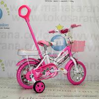 Sepeda Anak Erminio 22913 EVA Tongkat 12 Inci
