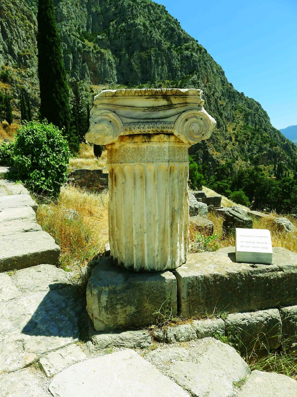 Treasury of the Corinthians Delphi