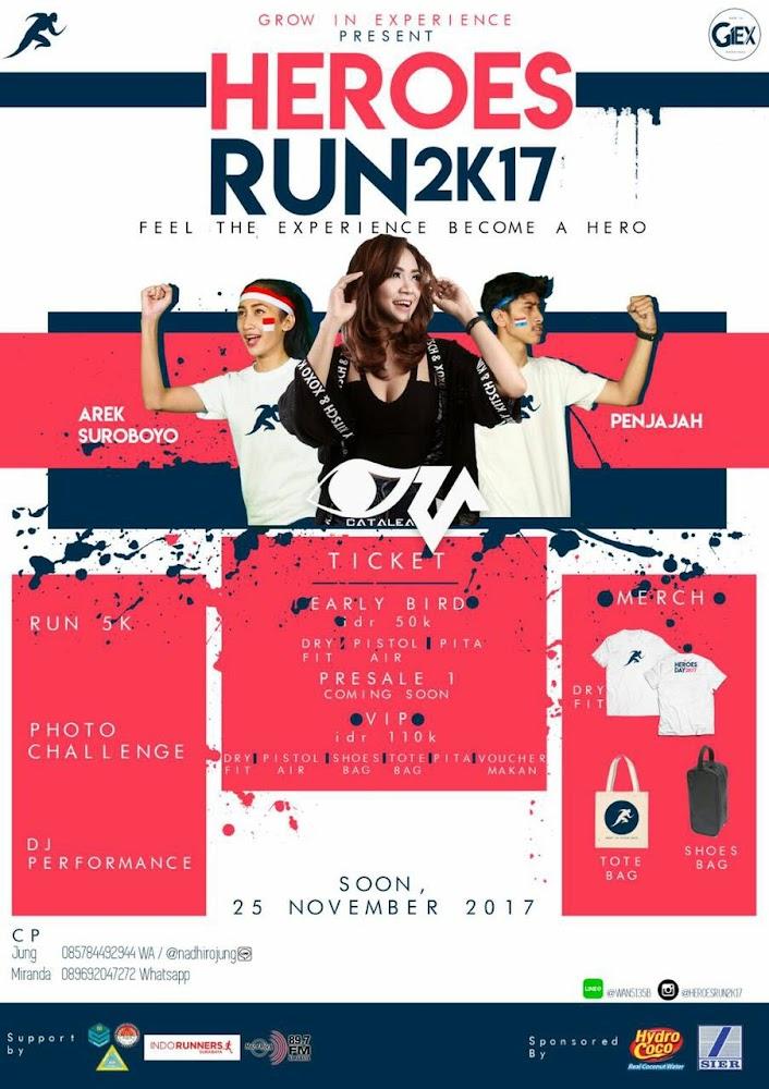 Heroes Run 2K17 • 2017