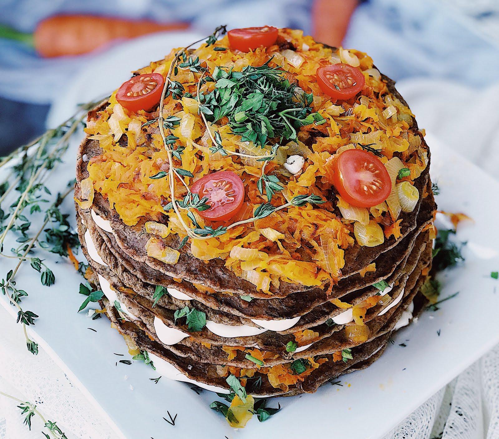 печеночный торт без молока рецепт с фото