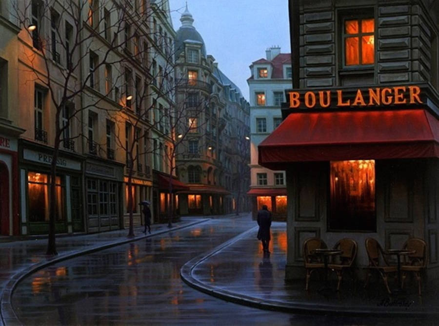 10-Alexey-Butyrsky-Architecture-in-Paintings-of-Cityscapes-at-Night-www-designstack-co