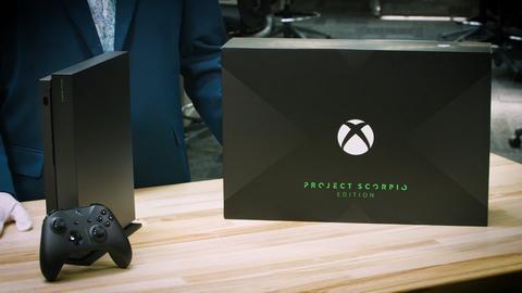 بالفيديو شاهد عملية فتح نسخة Project Scorpio Edition لجهاز Xbox One X