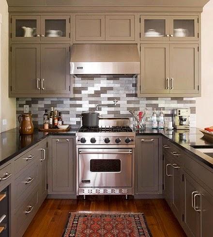 Como decorar una cocina peque a 5 consejos tiles - Como amueblar una cocina pequena ...
