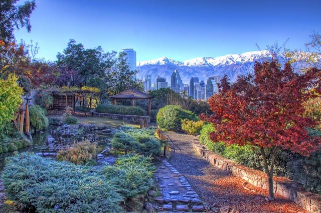 Clima em Santiago no mês de maio