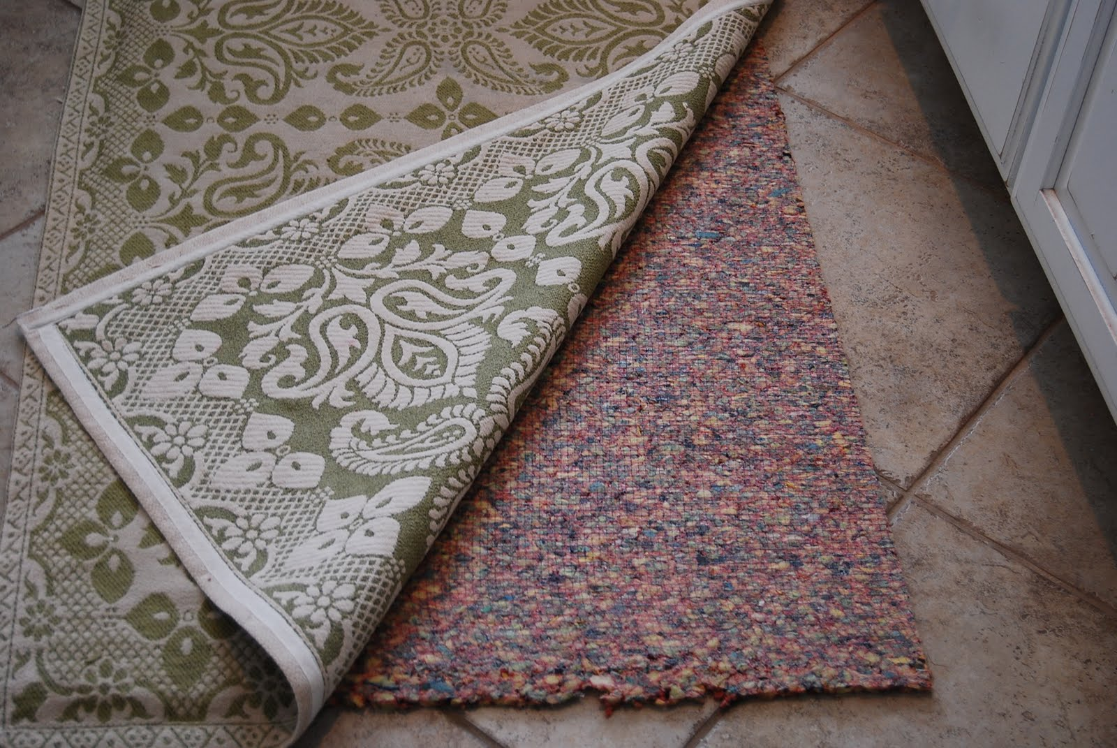 Home By Heidi: How To Keep a Rug in Place