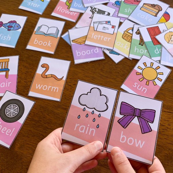 Pick A Partner Cards - Compound Word Pack | you clever monkey