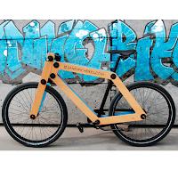 Sandwichbikes : le vélo en bois à monter soi-même