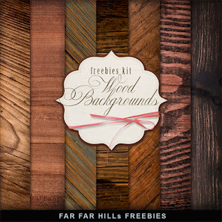 Freebies Background Kit - Wood Backgrounds