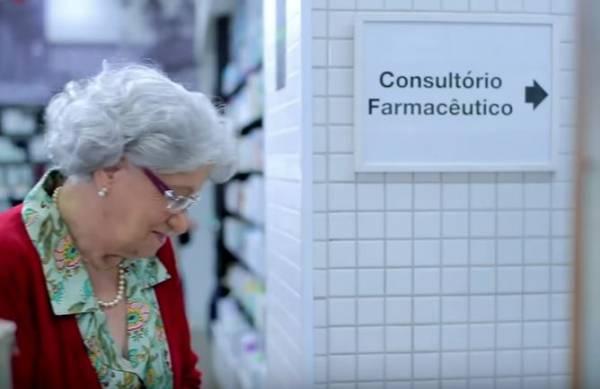 Faz Bem Contar com um Farmacêutico campanha