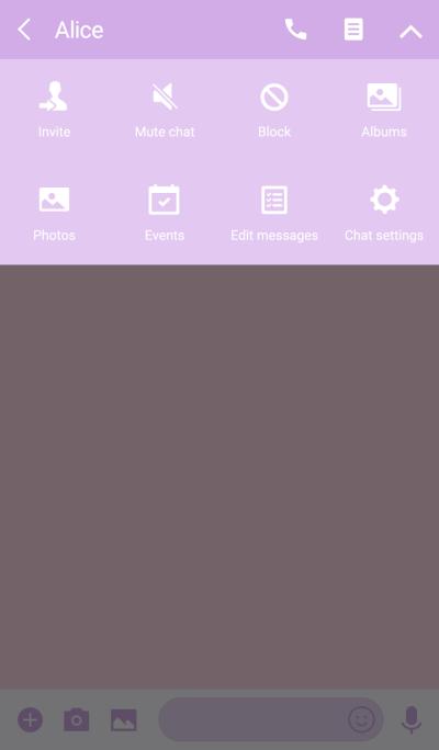 SIMPLE purple*pink*