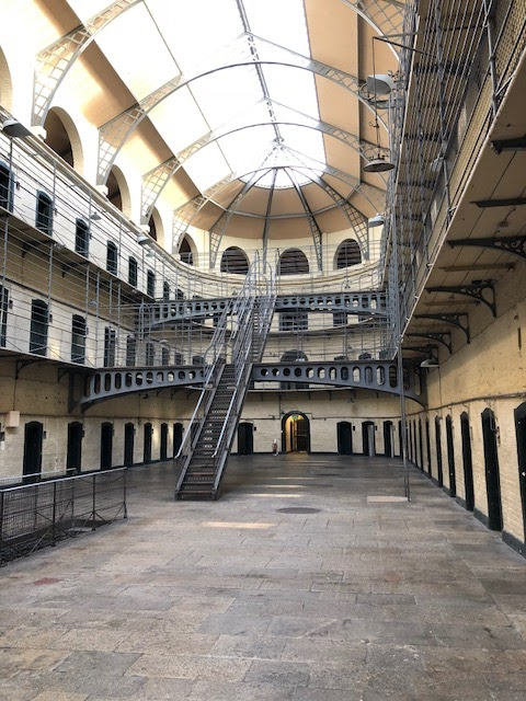 Kilmainham Gaol jail cells