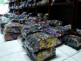 Stock Sandal Sancu lengkap di gudang sancu jogja
