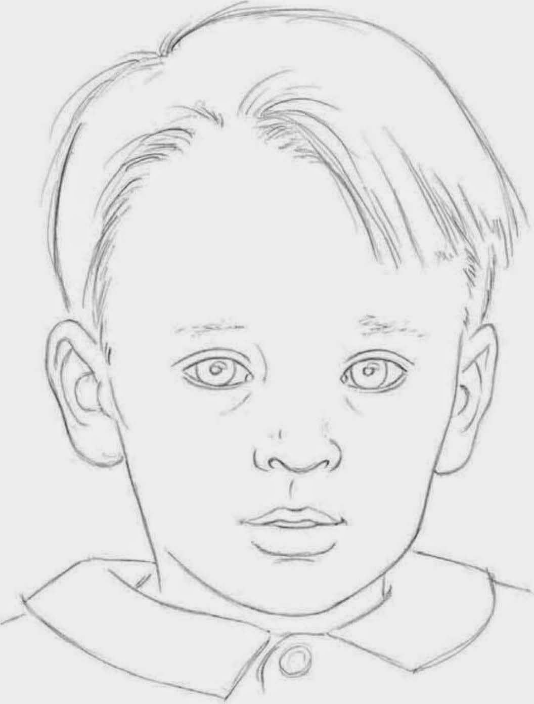 Childrens facial proportions