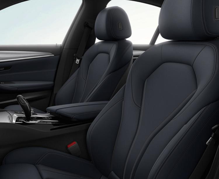 2019 BMW 5 Series interior design