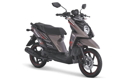 Warna Baru Yamaha X-Ride