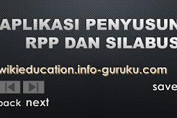 Gratis Aplikasi Penyusunan RPP dan Silabus